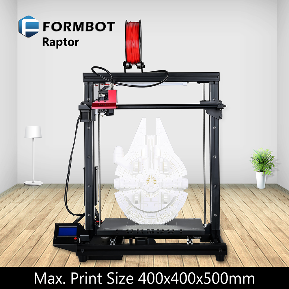 Raptor Large Build Size 3D Printer