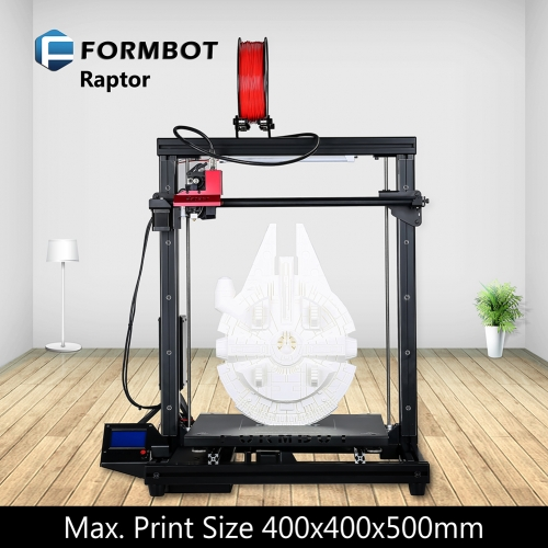 FORMBOT Raptor 400x400x500mm Big 3D Printer with BLTouch Auto Bed Leveling