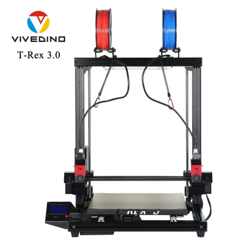 VIVEDINO T-Rex 3.0 Multi-function Big Size 3D Printer