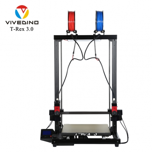 VIVEDINO T-Rex 3.0 700MM Big Size IDEX 3D Printer