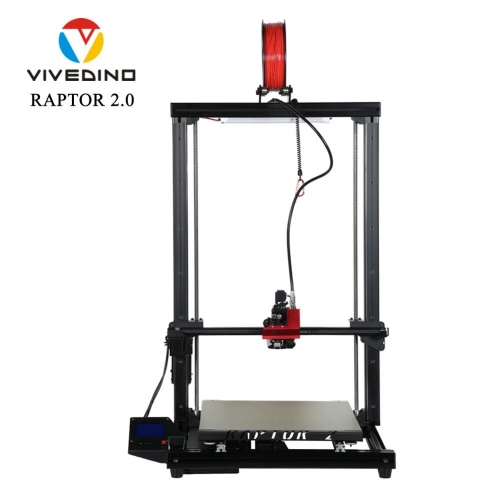 VIVEDINO Raptor 2+ Huge 3D Printer with 400x400x700mm Print Size